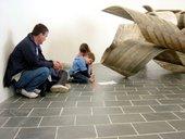 Twisty Word sculpture activity© Tate