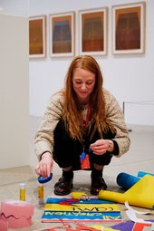 Photograph from U Studio Festival at Tate St Ives