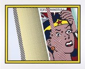 Roy Lichtenstein 'Reflections on Minerva' 1990 © Estate of Roy Lichtenstein/DACS 2017