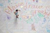 Uniqlo Tate Play: Mega Please Draw Freely installation view