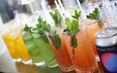 Photo of colourful drinks
