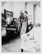 Vanessa (Stephen) Bell painting Lady Robert Cecil 1905 ​​​​​​​© Tate Archive