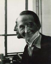Victor Obsatz,Portrait of Marcel Duchamp,1953 - Courtesy Moeller Fine Art, New York