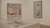 Polke exhibition at Tate Modern 2014-15