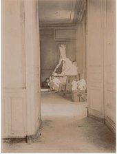 View of Rodin's studio c.1896. Photo by Eugène Druet, Musée Rodin