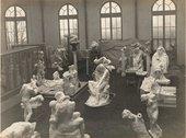 View of Rodin's studio, 1904–5.Photo by Jacques-Ernest Bulloz, Musée Rodin