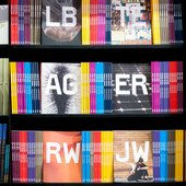 A photograph of a range of books by Tate Publishing
