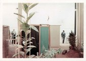 Visitors toHélio Oiticica's installation of Tropicália at Whitechapel Art Gallery, London 1969