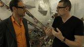 Artist Thomas Hirschhorn in conversation with Ben Lewis