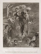 Thomas Stothard, The Voyage of the Sable Venus from Angola to the West Indies (1801) National Maritime Museum, Greenwich