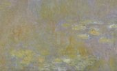 Detail of Claude Monet's Water-Lilies after 1916