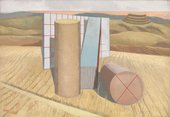 Paul Nash Equivalents for the Megaliths 1935 collection & © Tate