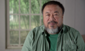 Portrait of artist Ai Weiwei