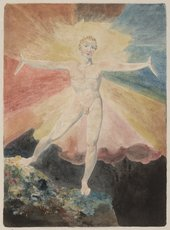 William Blake, Albion Rose, c.1793