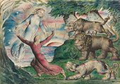 William Blake's illustrated works: Dante's Divine Comedy Primary tabs
