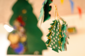 Make christmas decorations at Tate St Ives