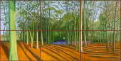 David hockney Woldgate Woods 6 & 9 November 2006 2006