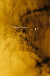 Book cover for Wolfgang Tillmans catalogue with yellow abstract photograph