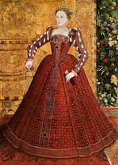 Steven van der Meulen, Steven van Herwijck, Portrait of Elizabeth I c.1563