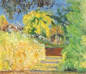 Pierre Bonnard Stairs in the Artist's Garden 1942-4 National Gallery of Art (Washington, USA)
