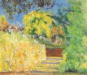 Pierre BonnardStairs in the Artist's Garden1942-4 National Gallery of Art (Washington, USA)