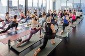 Yoga in East Room