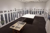 Installation view of Introduction to Archives XIII: Tokyo Biennale '70, Revisited, March 2016