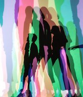 Photograph of Olafur Eliasson's artwork Your uncertain shadow (colour)