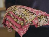 Zarina Bhimji's scarf