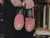 Zarina Bhimji's shoes