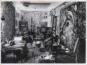 Zeid in her studio, Paris1960s