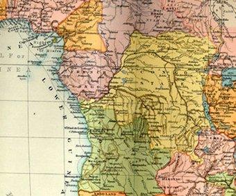 Seeing Africa Map Tate