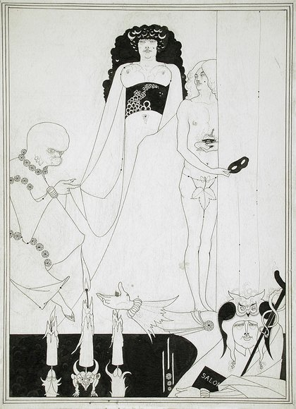 Aubrey Beardsley - exhibition at the Victoria and Albert Museum 1966