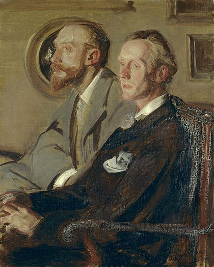 Jacques-Emile Blanche Portraits of Charles Shannon and Charles Ricketts 1904 Tate