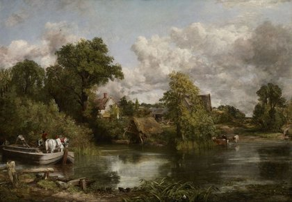 Constable's Techniques, Materials And 'six Footer' Paintings