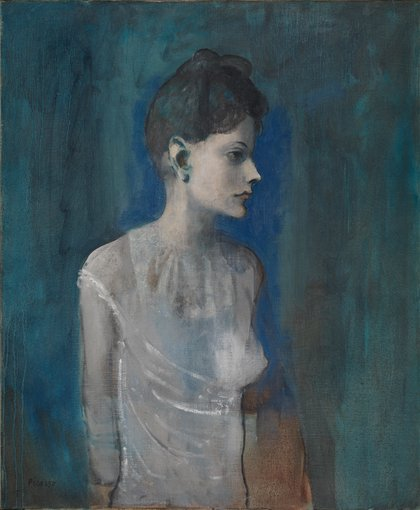 Girl In A Chemise C 1905 By Pablo Picasso Tate Papers Tate