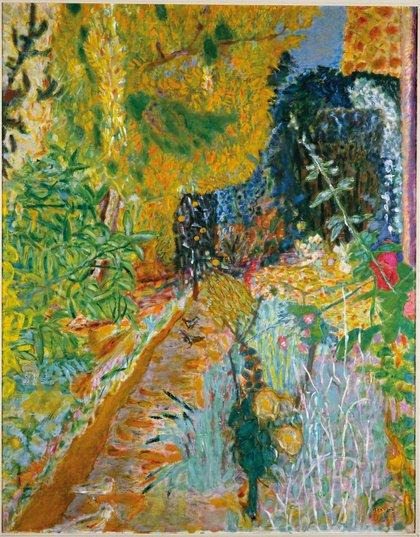 The C C Land Exhibition Pierre Bonnard The Colour Of Memory