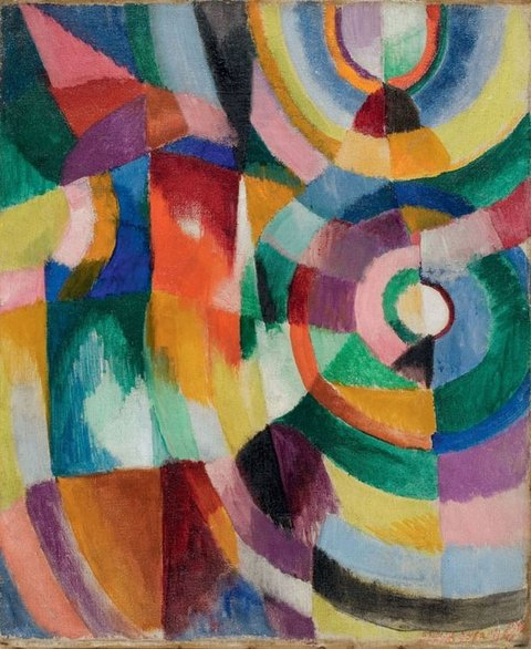 Sonia delaunay electric prisms 1913