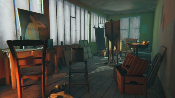 Modigliani VR: The Ochre Atelier – Behind The Scenes   Tate