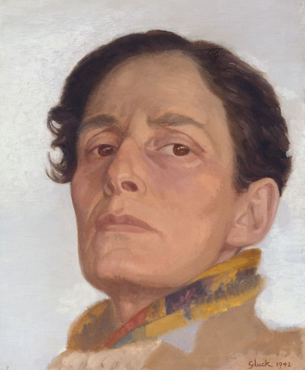 Gluck (Hannah Gluckstein) Self-Portrait 1942 Collection & © National Portrait Gallery, London