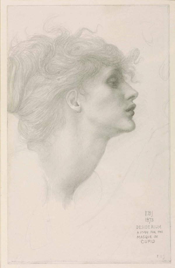 Sir Edward Coley Burne-Jones Desiderium 1873 Tate Presented by Sir Philip Burne-Jones Bt 1910