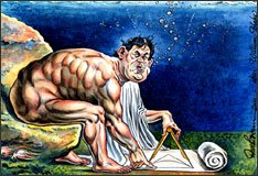 Icons Of British Satire Dave Brown Tate