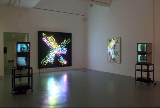D Art Exhibition Uk : Bruce nauman make me think exhibition at tate