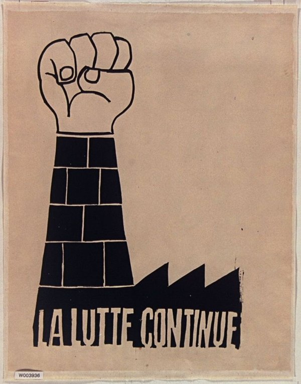 Screen Politics Pop Art And The Atelier Populaire Tate