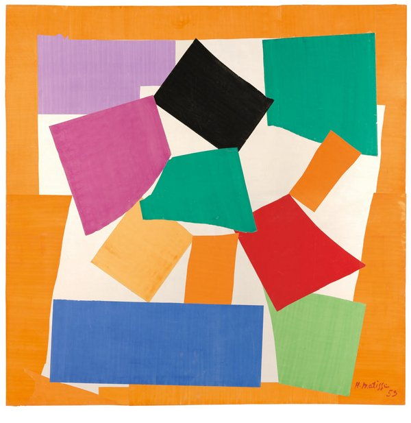 Image result for matisse cut outs
