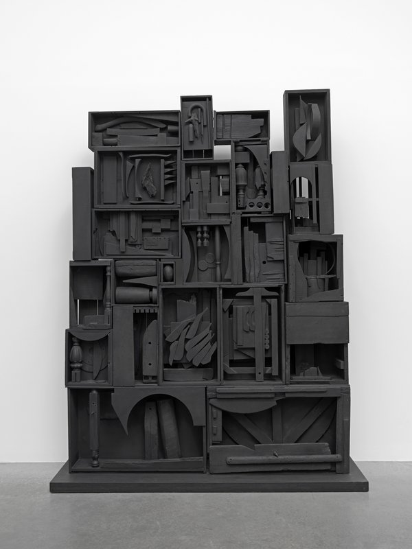 Black Wall 1959 By Louise Nevelson In Focus Tate