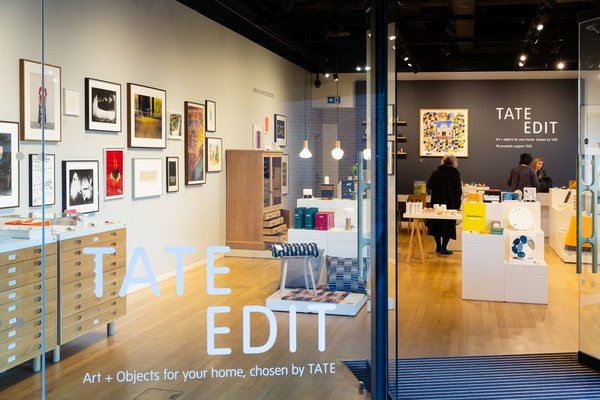 Looking into Tate Edit shop front