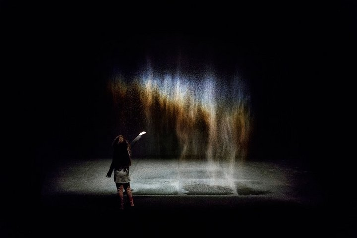 Photograph of Olafur Eliasson's artwork Beauty, 1993