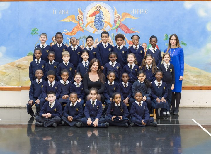 Photograph of a year three class
