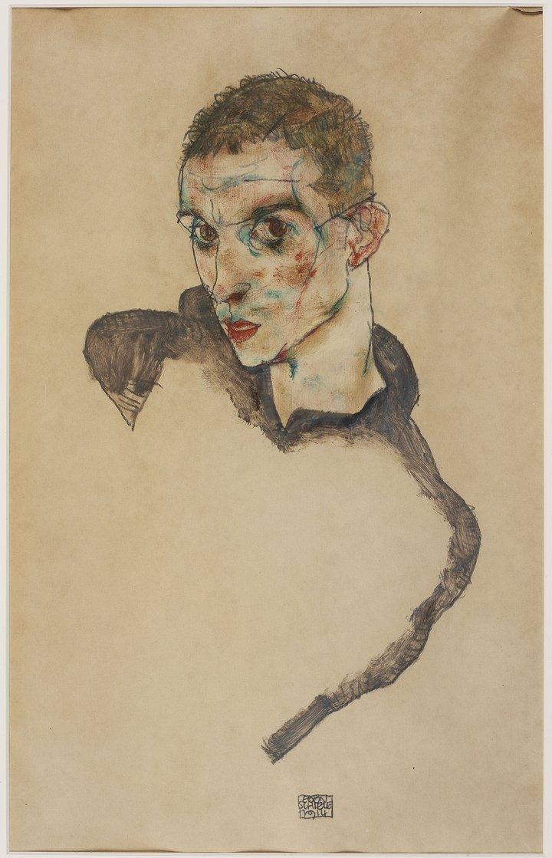 Self=portrait 1914.